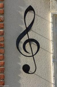 Une petite note de musique