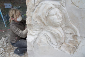 Sculpteur sur pierre